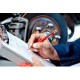 como fazer vistoria em motos Vila Sabará